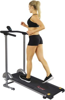 Sunny Health & Fitness Curved Treadmills