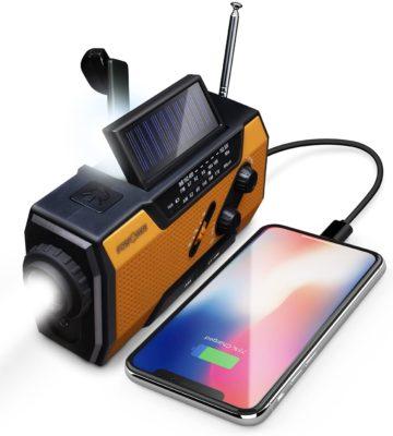 FosPower Solar Shortwave Radios