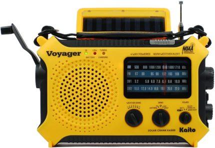 Kaito Solar Shortwave Radios