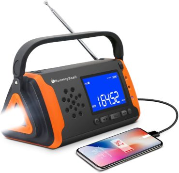 RunningSnail Solar Shortwave Radios