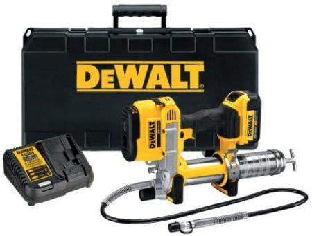 DEWALTs Cordless and Electric Grease Guns