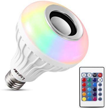 LightMe BLUETOOTH LIGHT BULB SPEAKERS
