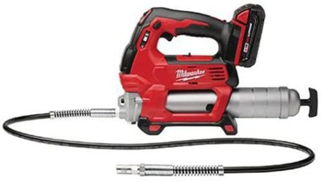 MILWAUKEE'S Cordless and Electric Grease Guns
