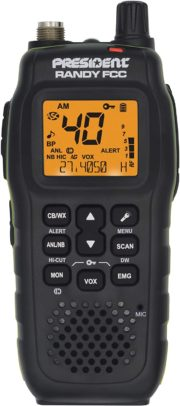 PRESIDENT ELECTRONICS Handheld CB Radios