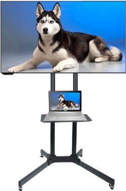 Husky Rolling TV Stands
