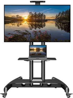NB North Bayou Rolling TV Stands