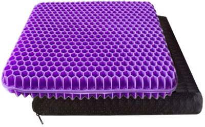 Purple Gel Seat Cushions
